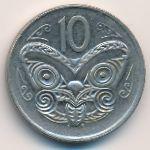 Новая Зеландия, 10 центов (1980 г.)