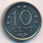 Антильские острова, 10 центов (1984 г.)