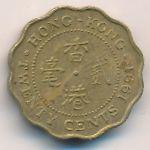 Гонконг, 20 центов (1989–1991 г.)