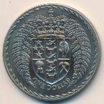 Новая Зеландия, 1 доллар (1972 г.)
