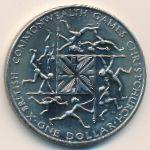 Новая Зеландия, 1 доллар (1974 г.)