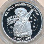 Кирибати, 10 долларов (2013 г.)