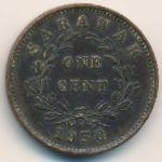 Саравак, 1 цент (1930–1937 г.)