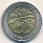 Индонезия, 1000 рупий (2000 г.)