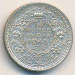 Британская Индия, 1/4 рупии (1943 г.)