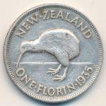 Новая Зеландия, 1 флорин (1935 г.)