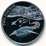 Британская Антарктика, 2 фунта (2016 г.)