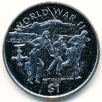 Либерия, 1 доллар (1997 г.)