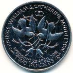 Остров Вознесения, 2 фунта (2011 г.)