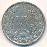 Чили, 1 песо (1915–1917 г.)