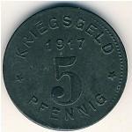 Виттен., 5 пфеннигов (1917 г.)