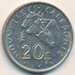 Новая Каледония, 20 франков (1967 г.)