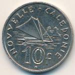 Новая Каледония, 10 франков (2009 г.)