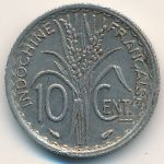 Французский Индокитай, 10 центов (1939 г.)