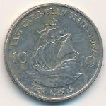 Восточные Карибы, 10 центов (2002 г.)