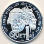 Гватемала, 1 кетсаль (1992 г.)