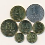 Таджикистан, Набор монет (2011 г.)