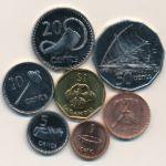 Фиджи, Набор монет