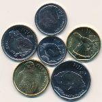 Фиджи, Набор монет (2012 г.)