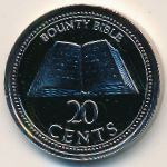 Pitcairn Islands, 20 cents, 2009–2010