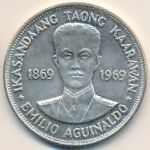 Филиппины, 1 песо (1969 г.)