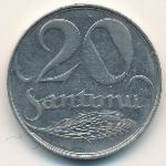 Латвия, 20 сантим (1922 г.)