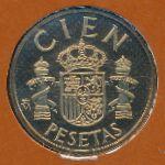 Испания, 100 песет (1982–1989 г.)
