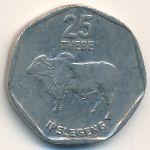 Ботсвана, 25 тхебе (1998 г.)