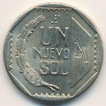 Перу, 1 новый соль (1991 г.)