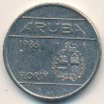 Аруба, 1 флорин (1986 г.)