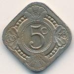 Антильские острова, 5 центов (1970 г.)