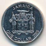 Ямайка, 1 доллар (2015 г.)