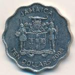 Ямайка, 10 долларов (2005 г.)