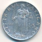 Ватикан, 5 лир (1951 г.)
