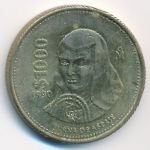Мексика, 1000 песо (1990 г.)