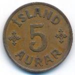 Исландия, 5 эйре (1942 г.)