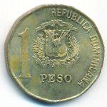 Доминиканская республика, 1 песо (2002 г.)