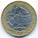 Италия, 1000 лир (1997–1998 г.)