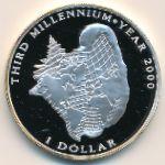 Багамские острова, 1 доллар (1996 г.)