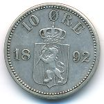 Норвегия, 10 эре (1892–1898 г.)