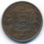 Джерси, 1/26 шиллинга (1870 г.)
