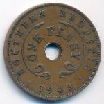Южная Родезия, 1 пенни (1943 г.)