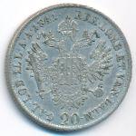 Австрия, 20 крейцеров (1841 г.)
