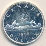 Канада, 1 доллар (1962 г.)