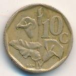 ЮАР, 10 центов (1993–1995 г.)
