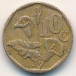 ЮАР, 10 центов (1995 г.)