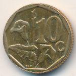 ЮАР, 10 центов (1998 г.)