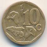 ЮАР, 10 центов (2004 г.)