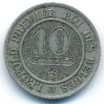 Бельгия, 10 сентим (1861–1864 г.)