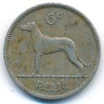 Ирландия, 6 пенсов (1953 г.)